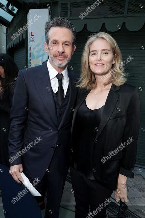Simon Kinberg, Director/Writer/Producer, Emma Watts, Vice Chairman of Twentieth Century Fox Film,