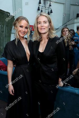 Jennifer Lawrence, Emma Watts, Vice Chairman of Twentieth Century Fox Film,