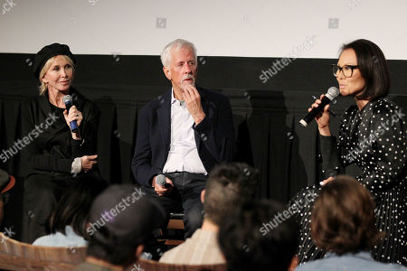 Trudie Styler (Producer), Michael Apted (Director), Alina Cho (moderator)