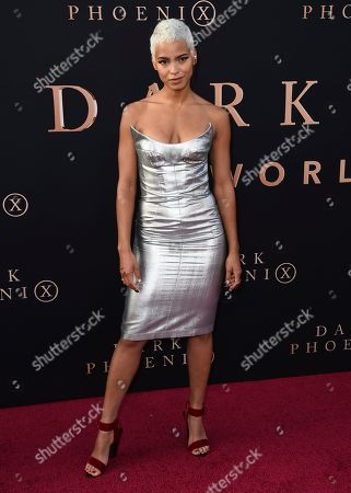 "Kota Eberhardt arrives at the Los Angeles premiere of ""Dark Phoenix"" at TCL Chinese Theatre on"