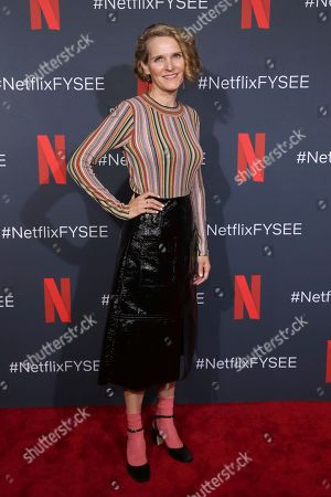 """Stock Photo of Melissa James Gibson attends the Netflix's """"House of Cards"""" FYC event at the Raleigh Studios, in Los Angeles"""