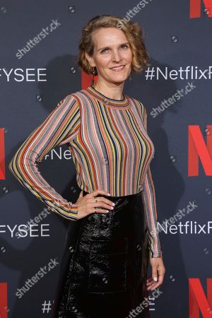 """Melissa James Gibson attends the Netflix's """"House of Cards"""" FYC event at the Raleigh Studios, in Los Angeles"""