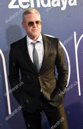 """Eric Dane, a cast member in the HBO drama series """"Euphoria,"""" poses at the premiere of the series at the ArcLight Hollywood, in Los Angeles"""