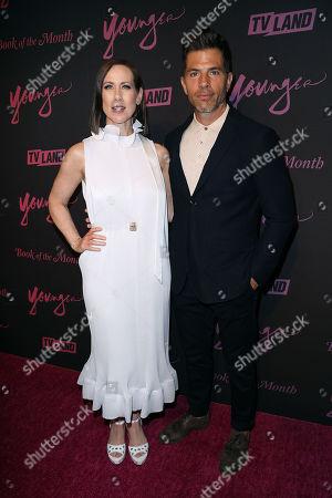 Stock Image of Miriam Shor and Chris Tardio