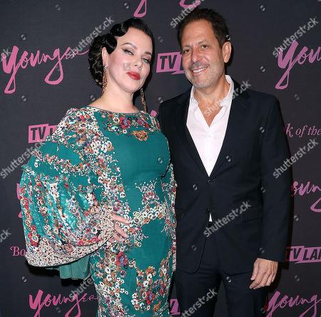 Debi Mazar and Darren Star (Creator, Exec. Prod)