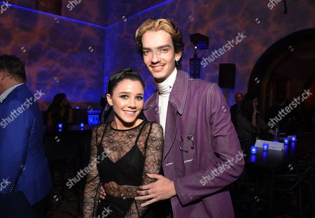 Stock Image of Rebecca Phillipou, Kodi Smit-McPhee