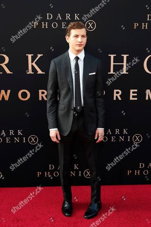 Tye Sheridan arrives for the world premiere of Dark Phoenix at the TCL Chinese Theatre IMAX in Hollywood, Los Angeles, California, USA 04 June 2019. The movie opens in the US 07 June 2019.