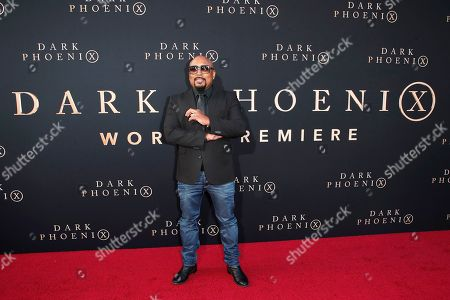 US reality show host Daymond John for the world premiere of Dark Phoenix at the TCL Chinese Theatre IMAX in Hollywood, Los Angeles, California, USA 04 June 2019. The movie opens in the US 07 June 2019.