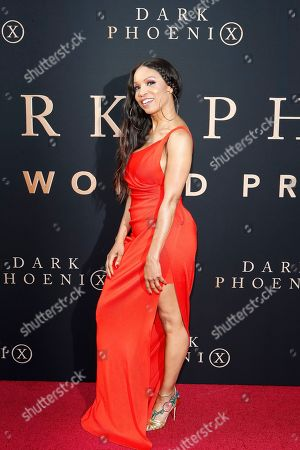 Elise Neal arrives for the world premiere of Dark Phoenix at the TCL Chinese Theatre IMAX in Hollywood, Los Angeles, California, USA 04 June 2019. The movie opens in the US 07 June 2019.