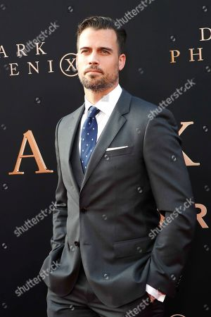 Stock Picture of Thomas Beaudoin arrives for the world premiere of Dark Phoenix at the TCL Chinese Theatre IMAX in Hollywood, Los Angeles, California, USA 04 June 2019. The movie opens in the US 07 June 2019.