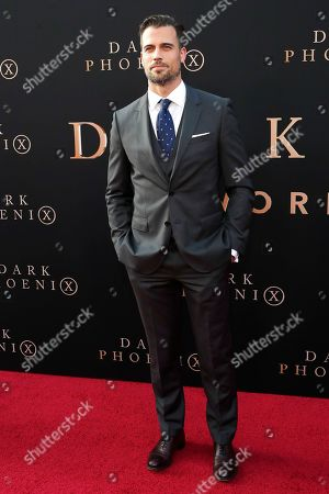 Stock Image of Thomas Beaudoin arrives for the world premiere of Dark Phoenix at the TCL Chinese Theatre IMAX in Hollywood, Los Angeles, California, USA 04 June 2019. The movie opens in the US 07 June 2019.