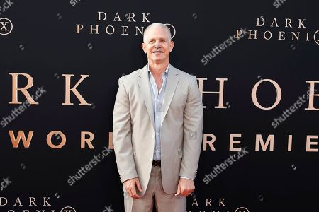 USA film producer Hutch Parker arrives for the world premiere of Dark Phoenix at the TCL Chinese Theatre IMAX in Hollywood, Los Angeles, California, USA 04 June 2019. The movie opens in the US 07 June 2019.