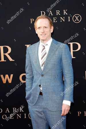 Stock Image of USA actor Scott Shepherd arrives for the world premiere of Dark Phoenix at the TCL Chinese Theatre IMAX in Hollywood, Los Angeles, California, USA 04 June 2019. The movie opens in the US 07 June 2019.