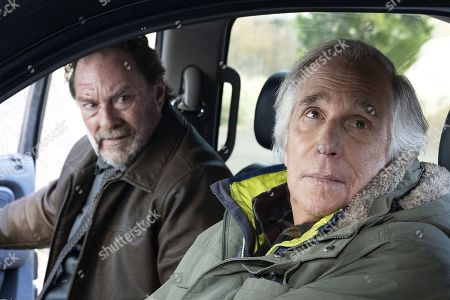 Stephen Root as Monroe Fuches and Henry Winkler as Gene Cousineau
