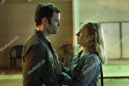 Bill Hader as Barry Berkman and Sarah Goldberg as Sally Reed