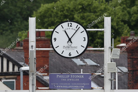 The Dickie Bird clock during Yorkshire CCC vs Essex CCC, Specsavers County Championship Division 1 Cricket at Emerald Headingley Cricket Ground on 5th June 2019