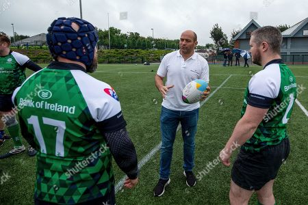 'We Need Rain To Form The Rainbow'. Irish rugby captain, Rory Best, takes the Emerald Warriors through their final training session ahead of Europe's biggest LGBT+ inclusive rugby tournament which takes place in Dublin this weekend. This year, for the first time a women's tournament has been added to the line up, teams will play for 'Ann Louise Gilligan Cup'. The team is calling on Irish people, not just rugby fans or LGBT+, to be allies for the inclusive event. . The Union Cup takes places over two days and will feature 45 teams from 15 countries. Tickets are available from available from www.unioncupdublin.ie and are priced at ?10 for adult tickets and any profits go to Belong To LGBT youth services. Pictured today is Rory Best, Mark Mulligan and Simon Murphy