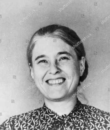 Anna Seghers (1900-1983) anti-fascist German author of The Seventh Cross(1942), which was made into the 1944 film about a German Concentration camp starring Spencer Tracy.