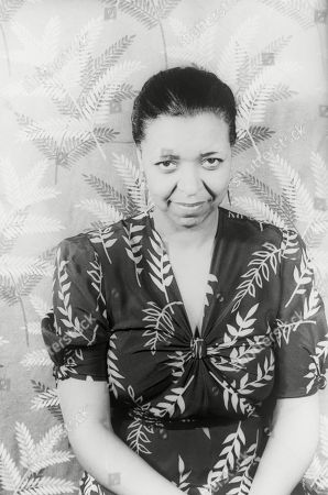 Ethel Waters (1896-1977), African American blues singer and actress in a 1939 portrait by Carl Van Vechtan.