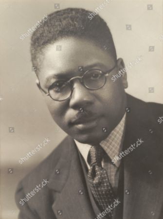 Aaron Douglas (1899-1979), African American painter and a major figure in the Harlem Renaissance.