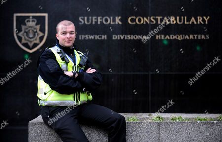 Editorial photo of Supercop Sergeant Ali Livingstone, Britain's most effective police officer on Night Patrol Ipswich, Britain - 21 Oct 2009