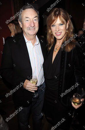 Nick Mason with wife Annette
