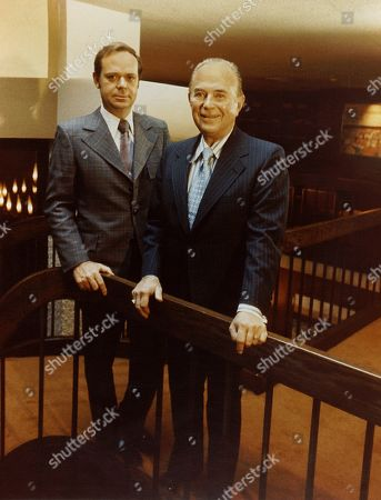 Fred Turner b. 1933 and Ray Kroc 1902-1984 the executive leaders of McDonalds Corporation ca. 1970s. McDonalds Corp. photo.,