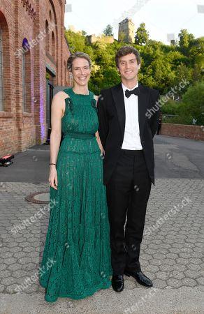 Prince Josef-Emanuel von and zu Liechtenstein with Princess Maria Anunciata