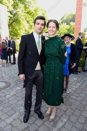 Prince Peter zu Sayn-Wittgenstein-Sayn with Schwester Princess Sofia