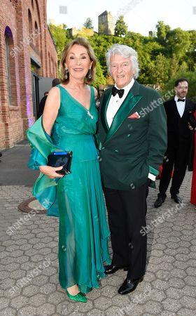Editorial picture of Wedding of  Prince Casimir Sayn-Wittgenstein-Sayn and Alana Bunte, Sayn Castle, Bendorf, Germany - 01 Jun 2019