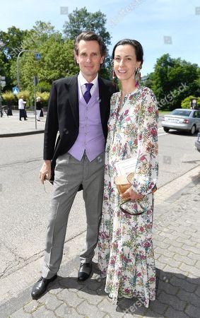 Oliver von Boch-Galhau with Mrs Dina