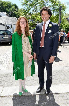 Olivia Schuler-Voith with Archie Akhavan-Kharazian