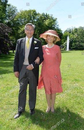 Prince Alexander zu Sayn - Wittgenstein - Sayn with Mrs Princein Gabriela
