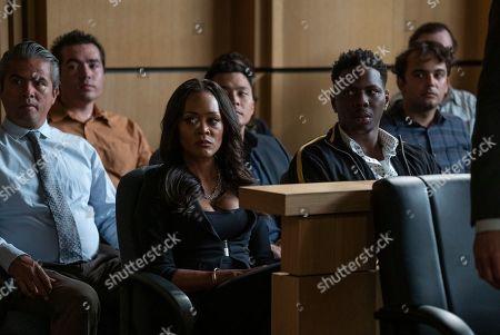Robin Givens as Julianne Johnson and Mitchell Edwards as Severen Johnson Jr.