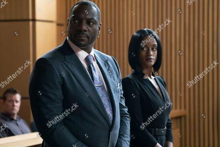 Adewale Akinnuoye-Agbaje as Severen 'Sevvy' Johnson and Skye P. Marshall as Angela Ashley