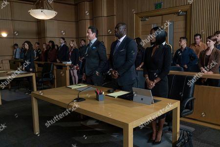 Scott Cohen as Ezra Wolf, Adewale Akinnuoye-Agbaje as Severen 'Sevvy' Johnson and Skye P. Marshall as Angela Ashley