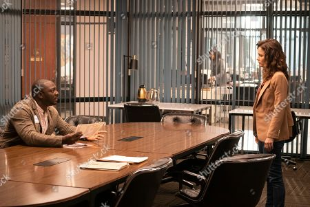 Adewale Akinnuoye-Agbaje as Severen 'Sevvy' Johnson and Robin Tunney as Maya Travis