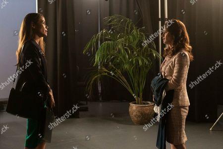 Daniella Alonso as Effy Collier and Robin Tunney as Maya Travis