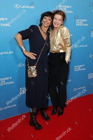 Stock Image of Rachel Ward and Jacqueline Mckenzie