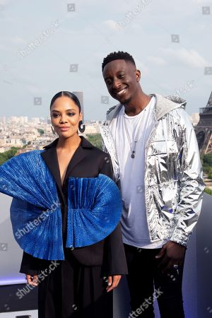 Tessa Thompson and Ahmed Sylla
