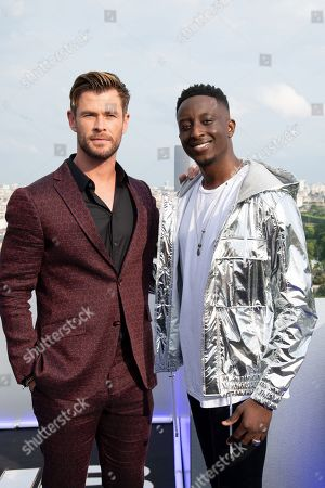 Chris Hemsworth and Ahmed Sylla