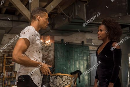 Cleo Anthony as Greer Childs and DeWanda Wise as Nola Darling