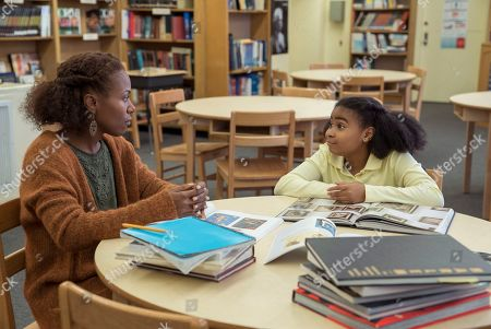 Stock Picture of DeWanda Wise as Nola Darling and Taliyah Whitaker as Reggie Walters