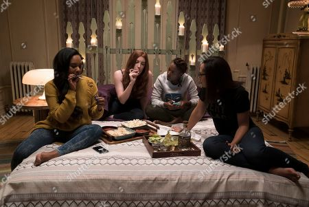 Chyna Layne as Shemekka Epps, Elise Hudson as Rachel,  DeWanda Wise as Nola Darling and Margot Bingham as Clorinda Bradford