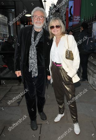 Stock Picture of Leigh Lawson and Twiggy