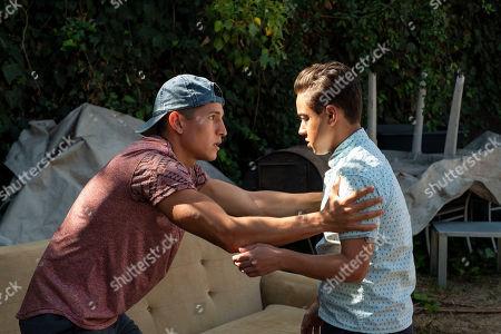 Danny Ramirez as Mario Martinez and Jason Genao as Ruby Martinez