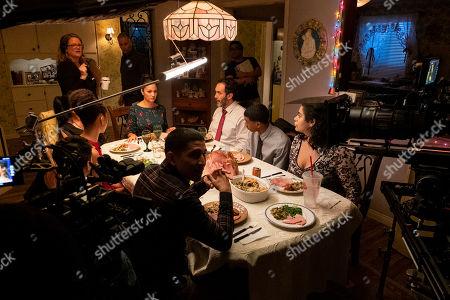 Sierra Capri as Monse Finnie, Lauren Iungerich Executive Producer, Paula Garces as Geny Martinez, Eddie Gonzalez Executive Producer, Danny Ramirez as Mario Martinez, Brett Gray as Jamal Turner and Jessica Marie Garcia as Jasmine