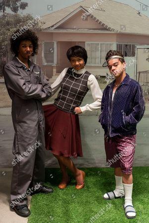 Brett Gray as Jamal Turner, Sierra Capri as Monse Finnie and Jason Genao as Ruby Martinez
