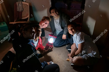 Sierra Capri as Monse Finnie, Brett Gray as Jamal Turner, Lauren Iungerich Executive Producer, Diego Tinoco as Cesar Diaz and Jason Genao as Ruby Martinez