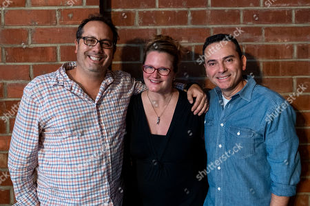 Jeremy Haft Executive Pruducer, Lauren Iungerich Executive Producer and Eddie Gonzalez Executive Producer